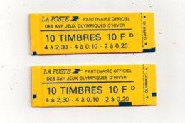 2 Carnets 10 Francs -non Ouverts-voir état - Carnets