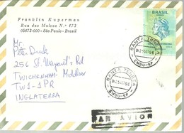 LETTER 1996 SANTA TERESA - Brasil