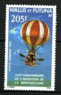 WALLIS  - PA  124 - 205F Montgolfière - Neuf N** - Airmail
