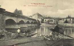 La Haute Garonne MONTREJEAU  Pont Sur La Garonne Départ En Barques Labouche  RV - Montréjeau