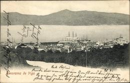 Cp Vigo Galicien Spanien, Panorama, Gesamtansicht - Espagne