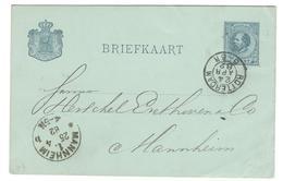11544 - Pour L'Allemagne - Postal Stationery