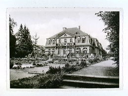 Egelsbach, Hotel Haus Bayers-Eich, Außenansicht Mit Terrasse, AK, Gelaufen 1962 - Deutschland