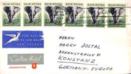 [407638]Afrique Du Sud  -  Animaux, Eléphants - Elephants