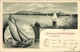 Artiste Cp Berlin Köpenick Friedrichshagen, Segelboote Auf Dem Müggelsee - Allemagne