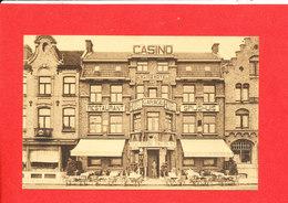 DIKSMUIDE Cpa Façade Casino Municipal Restaurant Garage Hotel   Edit Desaix - Diksmuide