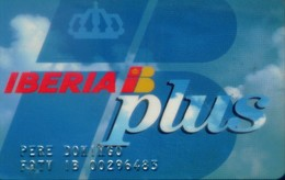 Spain Airlines Cards, Iberia (1pcs) - Espagne
