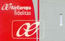 Spain Airlines Cards, Air Europa  (1pcs) - Spain