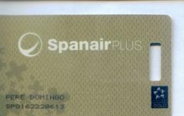 Spain Airlines Cards, Spanair  (1pcs) - Spain