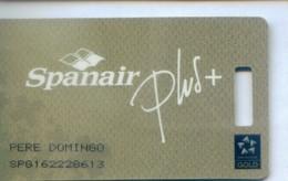 Spain Airlines Cards, Spanair  (1pcs) - Espagne