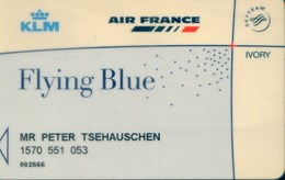 Spain Airlines Cards, Air France (1pcs) - Spain