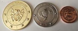 Lote 3 Monedas Harry Potter. Bank Gringotts. Gran Bretaña. Fabricación Actual - Sin Clasificación