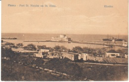 Cartolina Grecia Rodi 1920 - Greece