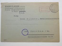 GEBÜHR BEZAHLT , Klarer Stempel Auf Brief Aus  Jöhstedt  1946 - Sowjetische Zone (SBZ)