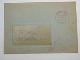 GEBÜHR BEZAHLT , Klarer Stempel Auf Brief Aus  RODEWISCH 1946 - Sowjetische Zone (SBZ)