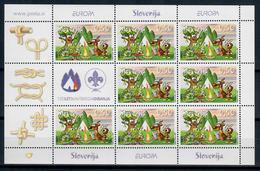 SLOVENIA 2007 - EUROPA - 100 ANNI SCOUTISMO - MF - MNH ** - Slovenia
