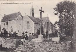 CLOHARS-FOUESNANT - L'Eglise Et Le Calvaire - Cimetière - Autres Communes