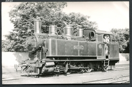 "Jacques H. Renaud Photo - Ferrocarril Ponferrada à Villablino - 041T Krauss (ex 040T) "" Malzaga "" N° 183 - Voir 2 Scans - Treni"