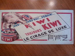 Buvard  KIWI Le Cirage De Luxe Boot Polish - Buvards, Protège-cahiers Illustrés