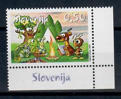 SLOVENIA 2007 - EUROPA - 100 ANNI SCOUTISMO  - MNH ** - Slovenia