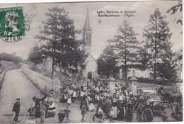 KERFEUNTEUN (environs De Quimper) L'Eglise - L'heure De La Messe - France