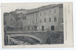 Cpa - Dpt  - Gard  - Saint-andre-de Valborgne -  La Mairie  Ecole -    Animation - (  Selection  )  Rare  1918 - Autres Communes