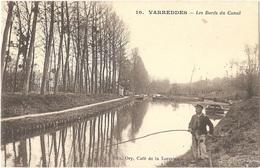 Dépt 77 - VARREDDES - Les Bords Du Canal - Édit. Ory, Café De La Lorraine - Cl. Hébert N° 10 - (écrite Par LEBOSSÉ) - Autres Communes