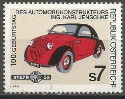 Austria - 1999 Steyr Car MNH **   Mi 2282  Sc 1785 - 1945-.... 2nd Republic