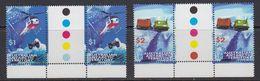 AAT 1998 Transport 2v  Gutter ** Mnh (41525) - Australisch Antarctisch Territorium (AAT)