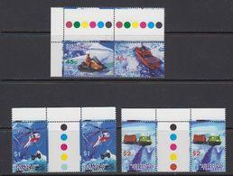 AAT 1998 Transport 2v +2v  Gutter (see Scan) ** Mnh (41525D) - Australian Antarctic Territory (AAT)