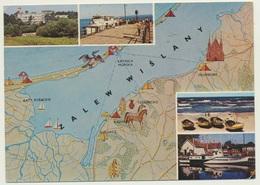 AK  Map Zalew Wislany - Cartes Géographiques