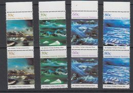 AAT 1989 Nolan Paintings 4v (pair)  ** Mnh (41526A) - Australisch Antarctisch Territorium (AAT)
