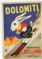 B53645 -  CPM - Ski Dans Les Dolomites 1955, Affiche Italienne De Sabi - Ohne Zuordnung