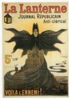 B53661 -  CPM - La Lanterne , Journal Républicain 1902, Affiche Eugène Ogé - Cartoline