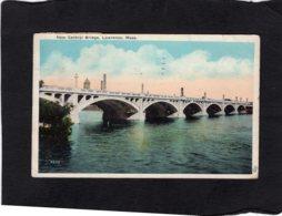 82471    Stati Uniti,  New Central Bridge,  Lawrence,  Mass.,  VG  1930 - Lawrence
