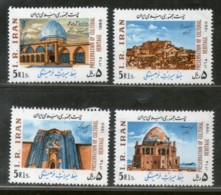 Persia Eran 19886 Cultural Heritage Preservation Mosque Arch Sc 2233-6 MNH # 3181 - Mosques & Synagogues