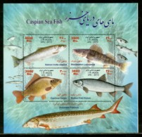 Persia Eran 2013 Caspian Sea Fish Marine Life M/s Sc 3085 MNH # 9483 - Marine Life