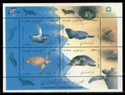 Persia Eran 2009 Conservation Of Marine Turtles Marinelife M/s Sc 3021 MNH # 8436 - Marine Life