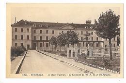 SURESNES  (cpa 92)  Le Mont Valérien, Le Bâtiment De L' O.N.M. Et Les Jardins   -  F 1 - Suresnes