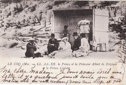 COQ SUR MER PRINCE ET PRINCESSE ALBERT DE BELGIQU E - De Haan