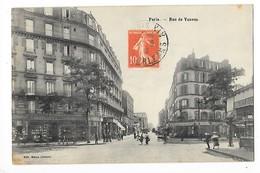 PARIS  (cpa75)  Rue De Vanves   ## Vue RARE ##   -  F 1 - District 14