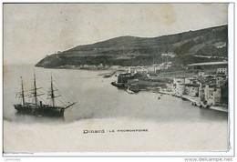 Dpt 35 Dinard Le Promontoire - Un Trois Mâts 1906 EVT EC - Dinard