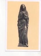 U4306 Cartolina Con Scultura Di FRANCESCO MESSINA: MARIA DI MAGDALA - MILANO, GALLERIA ARTE SACRA DEI CONTEMPORANEI - Sculture