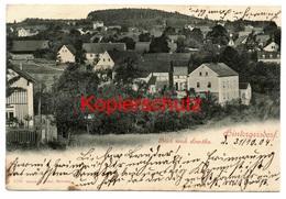 Hintergersdorf ( Gersdorf ) 1904 - Nach Kemnitz In Oberlausitz - Gersdorf