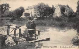 Les Bords Du Loiret - Le Moulin De St-Santin - France