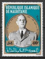 Célébrités Charles De Gaulle - Mauritanie N°293 1971 ** - De Gaulle (General)