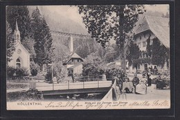 D3 /   Höllental  Gasthaus Sternen , Güntersthal B. Freiburg 1905 - Unclassified