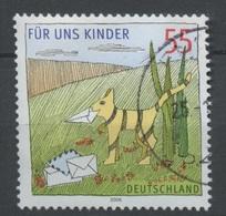 Allemagne Fédérale - Germany - Deutschland 2006 Y&T N°2379 - Michel N°2547 (o) - 55c Chat Tenant Une Lettre - [7] République Fédérale