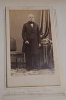 Photo Disderi & Cie,Paris,Auguste Stanislas Gardeur Dit Lebrun,capitaine D'artillerie Et Professeur,originale - Anciennes (Av. 1900)