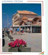 33 - Lacanau - Le Front De Mer - Commerces - Fleurs - Voir Scans Recto-Verso - Autres Communes